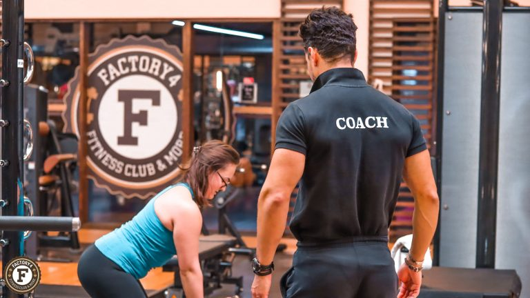 factory4 fitness club Luxembourg coaching personal training